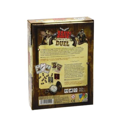 Bang! The Duel - Noobi Board Games Jocuri Societatate