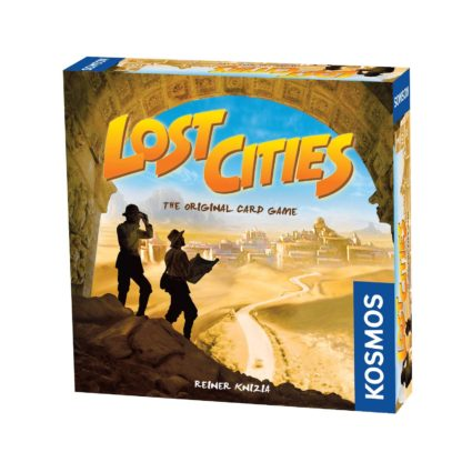 Lost Cities - Noobi Board Games Jocuri Societate