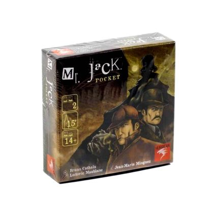 Mr. Jack Pocket - Noobi Board Games Jocuri Societatate