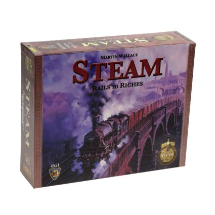 Steam - Rails to Riches - Noobi Games Jocuri Societatate