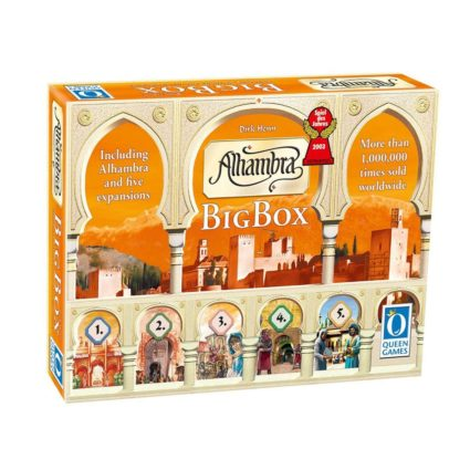 Alhambra Big Box - Noobi Board Games Jocuri Societatate
