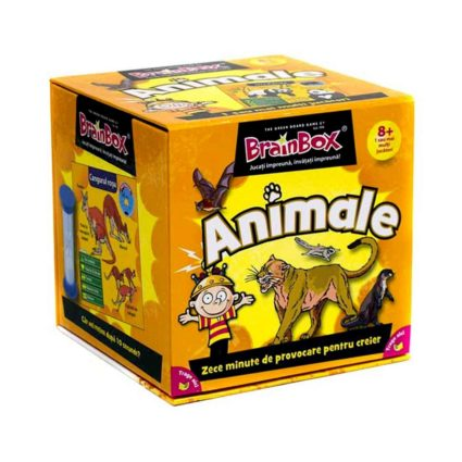 Noobi Games Jocuri de Societate Brainbox - Animale