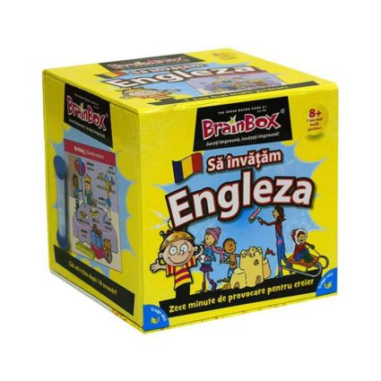 Brainbox - Sa Invatam Engleza- Noobi Board Games Jocuri Societatate Brainbox