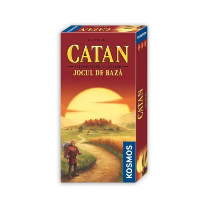 Catan - extensia 5/6 Noobi Board Games Jocuri Societatate