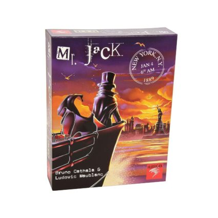 Mr. Jack in New York - Noobi Board Games Jocuri Societatate
