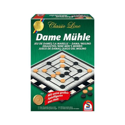 Classic Line Draughts (Checkers) / Nine men's morris
