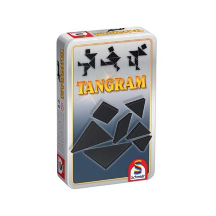 Tangram - in cutie metalica Noobi Games