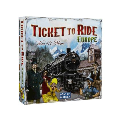 Ticket to Ride Europa Noobi Games