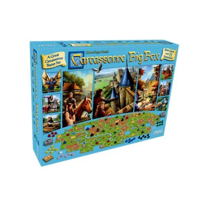 Carcassonne Big Box 6 (2017) Noobi Games